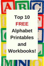 free printable preschool alphabet worksheets the relaxed homeschool