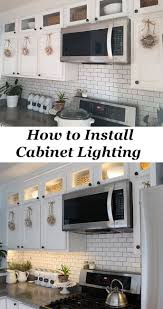 how to add under cabinet lighting best 25 cabinet lighting ideas on pinterest under counter