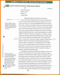 Writing A Research Paper Mla Format 11 How To Write Research Paper Sample Ledger Paper