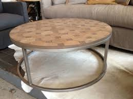 Round Glass And Metal Coffee Table Romantic Round Metal Coffee Table Base With Wooden And Glass Top