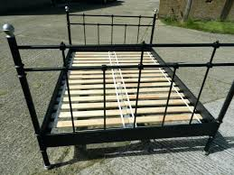 metal bed frame queen craigslist sears instructions food facts info