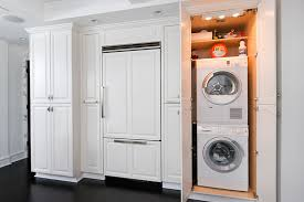 laundry in kitchen ideas washer and dryer design ideas