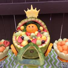 watermelon baby carriage baby carriage babyshower fruits fruits