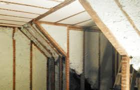 how to spray foam the rafters in your attic