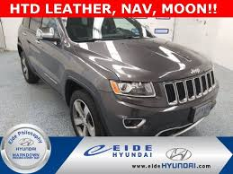 2014 jeep v6 horsepower used 2014 jeep grand limited 4x4 suv for sale grand forks
