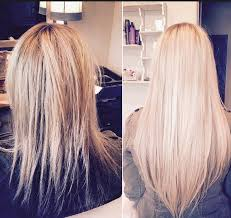 Hair Extensions Tape by Glam Seamless Before U0026 After Photos Beauty Pinterest Human