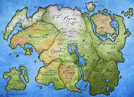 Solstheim Map Tamriel Map N S E W Pinterest Skyrim