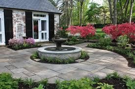 Backyard Fountains Ideas Garden Design With Garden Design Patio