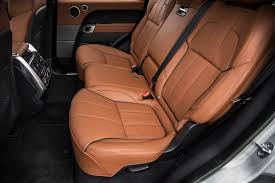 range rover truck interior 2014 land rover range rover sport supercharged rear seats photo