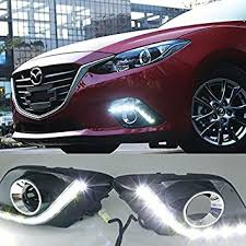 2016 mazda 3 fog light kit amazon com ijdmtoy exact fit for 2014 2016 mazda3 10w high power 9