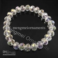 beaded bracelet crystal images 2018 10mm swarovski crystal beaded stretch bracelet in different jpg
