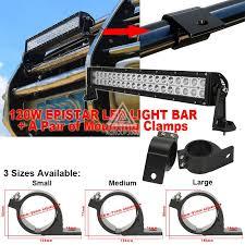 work light mounting bracket 49 54mm led work light bar bull bar mounting bracket cls for