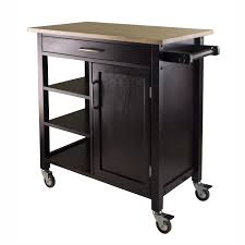 Hayneedle Kitchen Island by Ebony Kitchen Island Contemporary Kitchen Islands And Kitchen