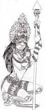 drawn warrior dark pencil and in color drawn warrior dark