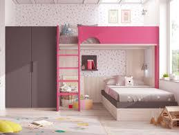 rangement livre chambre lit superposé fille pour chambre personnalisable glicerio so nuit