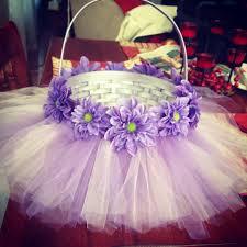 mermaid easter basket diy easter basket with tulle and flowers kids