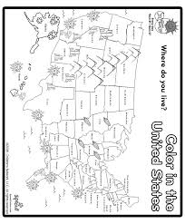 us map states by color united states map coloring page free
