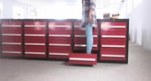 large tool storage cabinet assembling metal steel garage tool