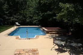 rectangle pool gallery brown u0027s pools u0026 spas inc atlanta