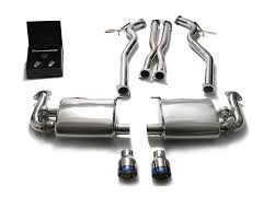 Ford Escape Exhaust System - armytrix stainless steel valvetronic catback exhaust system dual
