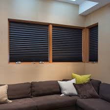 Cordless Window Shades Black Window Shades