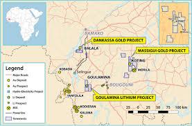 Gold Line Map Birimian Ltd