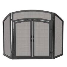 Free Standing Fireplace Screens by Fireplace Screens Fireplaces The Home Depot