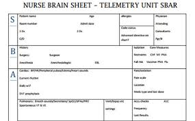Nursing Report Sheet Template Free Shift Report Template Uploaded By Kirei Syahira Nursing Report