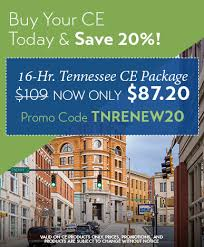 online ce tennessee real estate continuing education courses