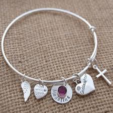 goddaughter charm bracelet goddaughter charm bracelet personalized goddaughter bracelet