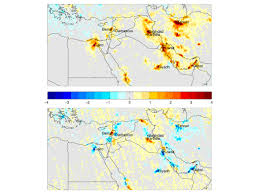 Middle East Map Games by Air Pollution Decline In Middle East Attributed To Turmoil And Unrest