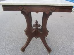 antique marble top pedestal table reserved for ruth antique eastlake side table with marble top
