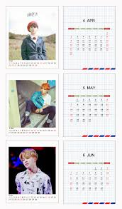mini desk calendar 2017 2017 bts bangtan boys kpop bts jimin mini hang desk calendar
