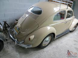 vintage volkswagen bug 1956 volkswagen beetle beige vw bug camper classic vintage