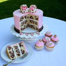 leopard print cakes pinterest cake batter cake and fondant