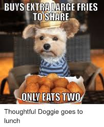 Meme Generator Two Images - buys extra large fries to share only eats two download meme