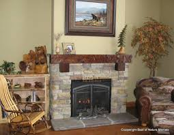 Log Cabin Fireplace Mantels Top Rustic Fireplace On Interior With One Of Our Favorites This