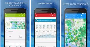 most accurate weather app for android the best weather apps for ios and android tech features
