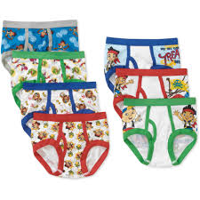 jake and the neverland pirates toddler boys underwear 7 pack