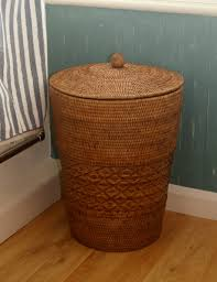 Tall Laundry Basket Stylish Cute Woven Rattan Laundry Basket U2014 Sierra Laundry Appealing Rattan