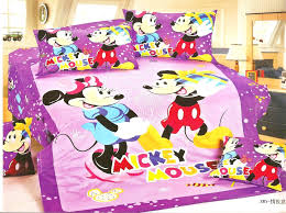 Minnie Mouse Twin Comforter Sets 100 Cotton Mickey Mouse Bedding Set 100 Cotton Mickey Mouse