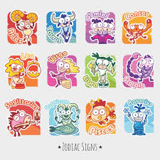 zodiac signs funny zodiac signs vector free download
