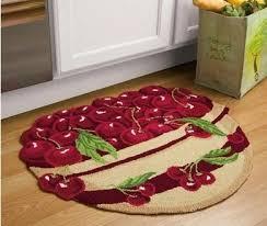 Vegetable Kitchen Rugs Cherry Fruit Kitchen Decor Bowl Of Cherries Kitchen Fruit Cherry