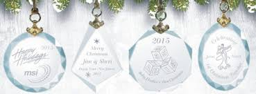 engraved ornaments