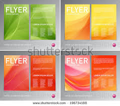 abstract vector modern flyer brochure design stock vector