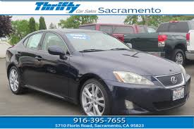 lexus is sedan 2007 thrifty carsales