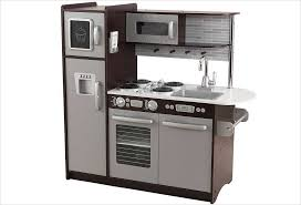 cuisine en bois jouet pas cher cuisine en bois jouet cuisine kidkraft uptown marron sur apesanteur