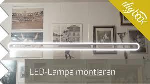 Wohnzimmerlampe Anklemmen Led Lampe Montieren Youtube
