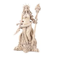 greek god statue hecate goddess witchcraft greek god statue ivory gifts of gods