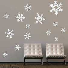 christmas wall decor decorating ideas beautiful white winter theme christmas wall